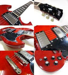 エレキギター初心者セット入門セットBSG-61/WRSGタイプ入門セット13点【エレキギター初心者】【エレクトリックギター】【送料無料】【smtb-TD】
