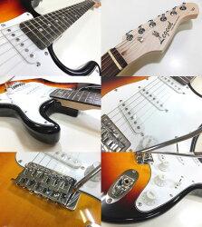 エレキギター初心者セット入門セットLegendレジェンドLST-Z/3TS15点セット【エレキギター初心者】【エレクトリックギター】【送料無料】