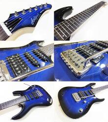エレキギター初心者セット入門セットAriaProIIMAC-STDIII/MBS入門セット13点【エレキギター初心者】【エレクトリックギター】【送料無料】