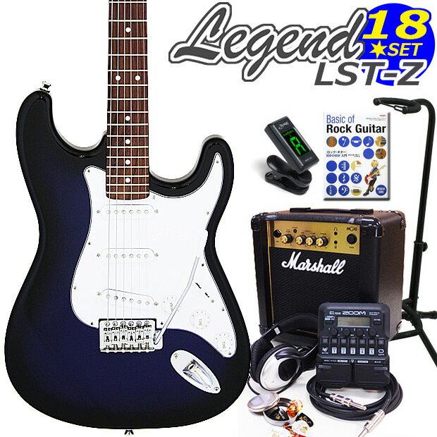ギター, エレキギター Legend LST-ZBBS 18 ZOOM G1Four