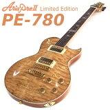 Aria ProII アリア プロ PE-780 N ナチュラル エレキギター 限定カラー ギグバッグ付 [98765]