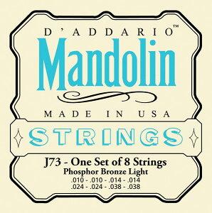 D'Adario ダダリオ マンドリン弦セット J73 Mandolin/Light