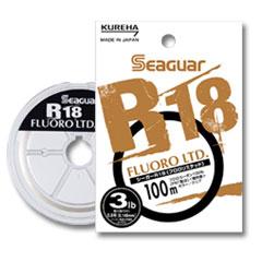 クレハ シーガー R18フロロリミテッド 100m 1lb・1.5lb・2lb・2.5lb・3lb・4lb