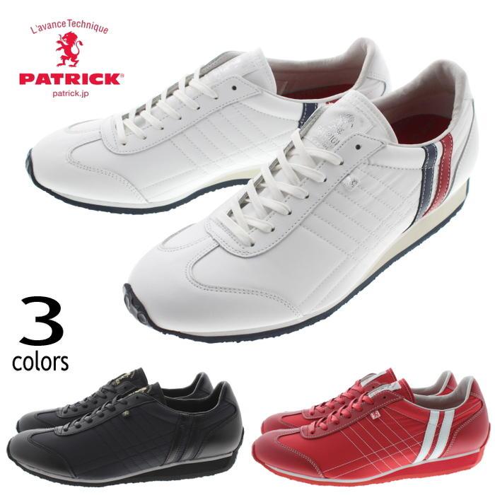 メンズ靴, スニーカー 16 PATRICK IRIS-BN TRC(531440) BLK(531441) RED(531447)FNOJ