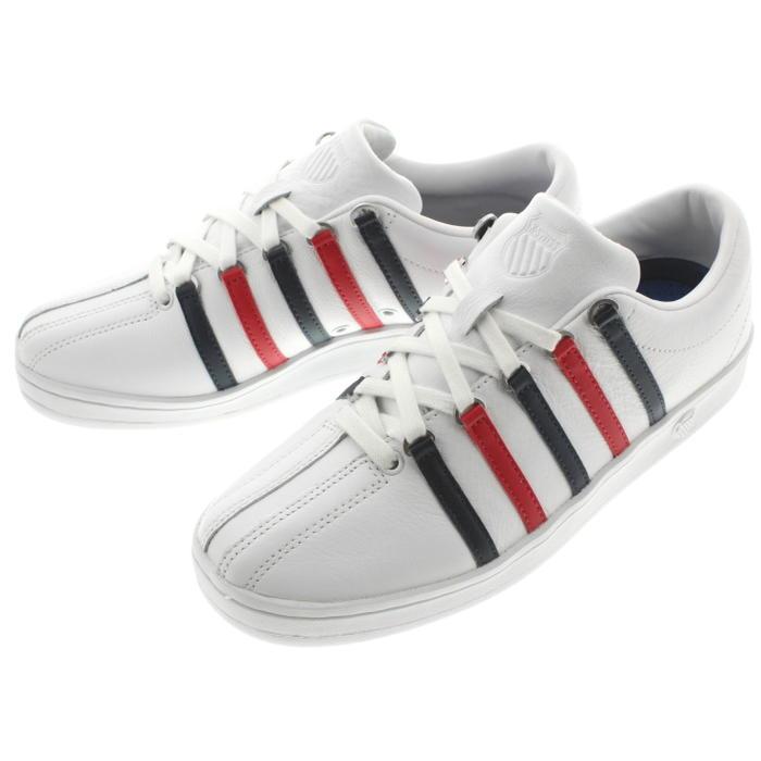 メンズ靴, スニーカー 16 KSWISS 88 CLASSIC 88 WHITEDRESBLESRBNRD 06322(02248)-154-M
