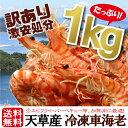 数量限定 訳あり冷凍車海老 1kg (1000g) ※サイズ