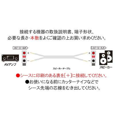 『イーグルス応援キャンペーンポイント5倍!』オーディオテクニカゴールドリンクスピーカーケーブルベーシックAT365S(切売り)