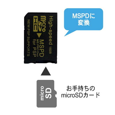 『イーグルス応援キャンペーンポイント5倍!』3AカンパニーマイクロSD-メモリースティックProDuo変換アダプター〜32GB収納ケース付microSD-MSPD変換PSP対応MC-MSPD『返品保証』