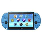 『期間限定ポイント5倍』『送料無料』SIE PlayStation Vita PSV2000 Wi-Fiモデル アクア・ブルー PCH-2000ZA23