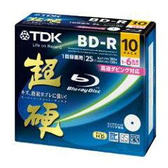 【在庫あり】【16時までのご注文完了で当日出荷可能!】TDK BRV25HCPWC10A 録画用 BD-R 25GB 1...