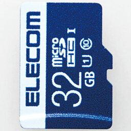 エレコム MF-MS032GU11R MF-MSU11Rシリーズ データ復旧microSDHCカード 32GB