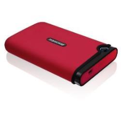 TRANSCEND 250GB StoreJet2.5 mobile Red TS250GSJ25M-R