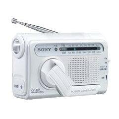 【在庫あり】【16時までのご注文完了で当日出荷可能!】SONY ICF-B02W (ホワイト) FM/AM手回...