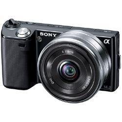 SONY NEX-5A B / ブラック 薄型広角レンズキット
