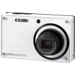 【在庫あり】【18時までのご注文完了で当日出荷可能!】PENTAX Optio RS1000 WH / ホワイト