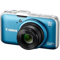 【在庫あり】【17時までのご注文完了で当日出荷可能!】CANON PowerShot SX230HS BL(ブルー)