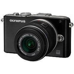 【在庫あり】【14時までのご注文完了で当日出荷可能!】OLYMPUS E-PL3 レンズキット B(ブラック)