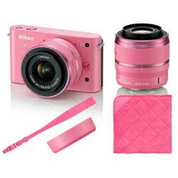 【在庫あり】【17時までのご注文完了で当日出荷可能!】Nikon Nikon1 J1 ダブルズームキット(ピ...