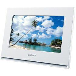 電子メールに添付された写真を受信し自動再生できるWi-Fi対応!SONY【デジタルフォトフレーム S-Frame DPF-WA700】