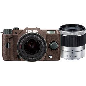 PENTAX PENTAX Q10 ダブルズームキット 040 (ココアブラウン/ブラウン)