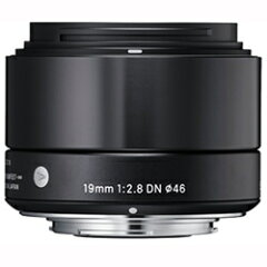 SIGMA 19mmF2.8 DN(ブラック) / ソニーEマウント用