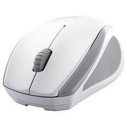 【送料無料】バッファロー BSMBW08WH(ホワイト) ワイヤレス BlueLEDマウス 3ボタン