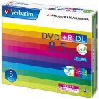 Verbatim DTR85HP5V1 データ用 DVD+R DL 8.5GB 1回記録 プリンタブル 8倍速 5枚