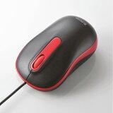 エレコム M-Y7URRD(レッド) USB接続 光学式 3ボタン Mサイズ