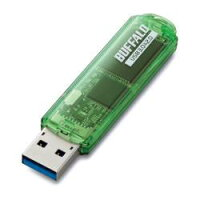 バッファロー RUF3-C64GA-GR(グリーン) USBメモリ 64GB スタンダードモデル