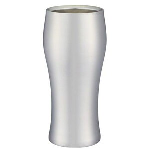 ドウシシャ 飲みごろビールタンブラー 420L DSB-420MT マット DSB420ひんやり 熱対策 アイス 冷感 保冷 冷却 熱中症 涼しい クール 冷たい