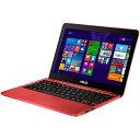 【在庫あり】【16時までのご注文完了で当日出荷可能!】ASUS X205TA-B-RED(レッド) EeeBook X20...