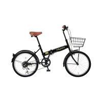 レイチェルFB-206R_20インチ_6段変速_折畳自転車_ブラック