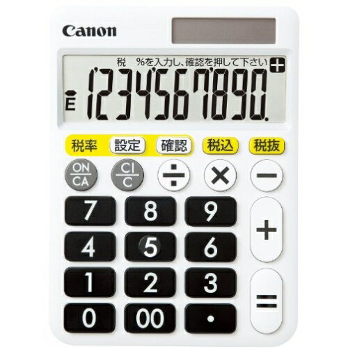 電卓・デジタル文具, 電卓 CANON HF-1000T 10