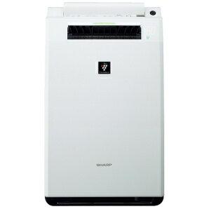 シャープ KI-FX55-W(ホワイト) 加湿空気清浄機 空気清浄25畳/加湿18畳