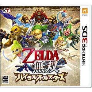 任天堂 3DSソフト ゼルダ無双 ハイラルオールスターズ