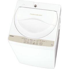 【設置+リサイクル+長期保証】東芝 AW-4S3-W(グランホワイト) 全自動洗濯機 洗濯4.2kg