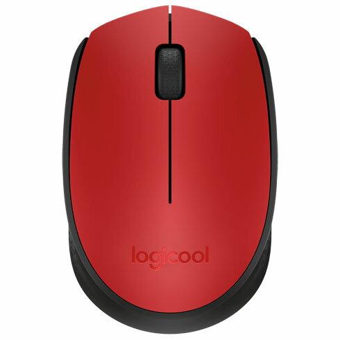 ロジクール M171RD(レッド) 2.4GHz 光学式マウス 3ボタン