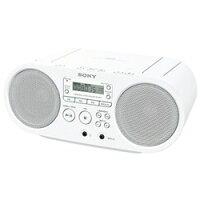 ソニーZS-S40-W(ホワイト)_CDラジオ
