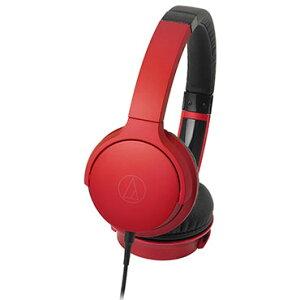 オーディオテクニカ ATH-AR3 RD(レッド) Sound Reality ポータブルヘッドホン