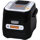 【長期保証付】アイリスオーヤマ RC-IA30-B(ブラック) 銘柄量り炊き IHジャー炊飯器 3合
