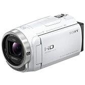 ソニー HDR-CX680-W(ホワイト) デジタルHDビデオカメラレコーダー 64GB