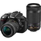 【長期保証付】ニコン(Nikon) D5300 AF-P ダブルズームキット