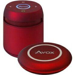 AVOX わけあり ASP-BT200DR(レッド) Bluetoothポータブルスピーカー