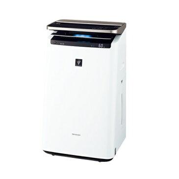 シャープ KI-JP100-W(ホワイト) プラズマクラスターNEXT搭載 加湿空気清浄機 空気清浄46畳/加湿26畳