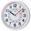 ノア精密 W-736 WH-Z よ〜める 知育時計 1