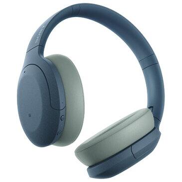 【長期保証付】ソニー WH-H910N-L(ブルー) ワイヤレスノイズキャンセリングステレオヘッドセット