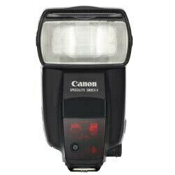 【在庫あり】【17時までのご注文完了で当日出荷可能!】CANON 580EX II スピードライト