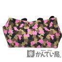 【中古】PRADA (プラダ) BN2020 カナパ トートバッグ 迷彩柄 ピンク系 キャンバス【USED-A】