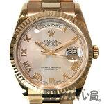 ROLEX(ロレックス)デイデイト118235F番2003年頃ピンクゴールド金ローマ数字36mm腕時計【USED-A】