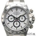 ROLEX(ロレックス)16520コスモグラフデイトナ白文字盤A番A3番1999年頃箱・ギャラ日ロレOHエルプリメロATクロノグラフメンズ腕時計【USED-SA】【中古】